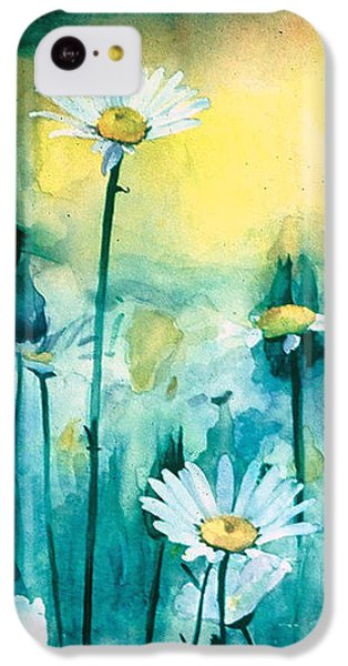 Splash Of Daisies IPhone 5c Case by Cyndi Brewer