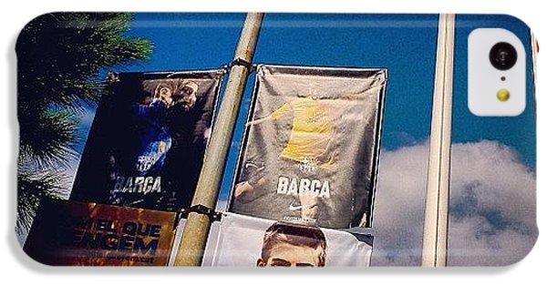 Sport iPhone 5c Case - #sport #football #fcbotiga #soccer by Tommy Tjahjono