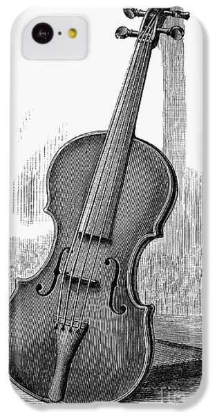 Violin iPhone 5c Case - Stainer Violin by Granger