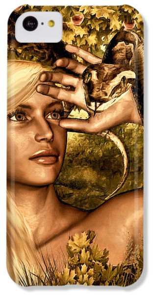 Python iPhone 5c Case - Temptation by Lourry Legarde