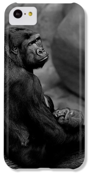 Tender Moment IPhone 5c Case by Sebastian Musial