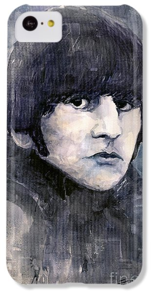 Musicians iPhone 5c Case - The Beatles Ringo Starr by Yuriy Shevchuk
