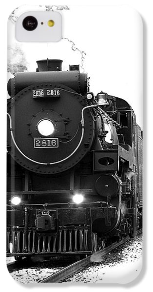 Train iPhone 5c Case - The Empress by Vivian Christopher