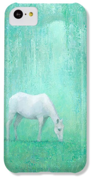 Horse iPhone 5c Case - The Green Glade by Steve Mitchell