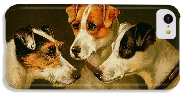 The Hounds IPhone 5c Case by Alfred Wheeler