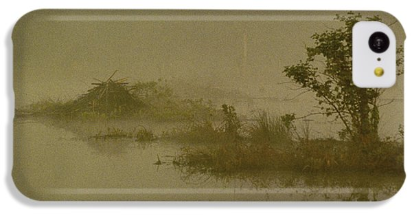 The Lodge In The Mist IPhone 5c Case by Skip Willits
