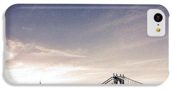 The Manhattan Bridge And New York City Skyline IPhone 5c Case