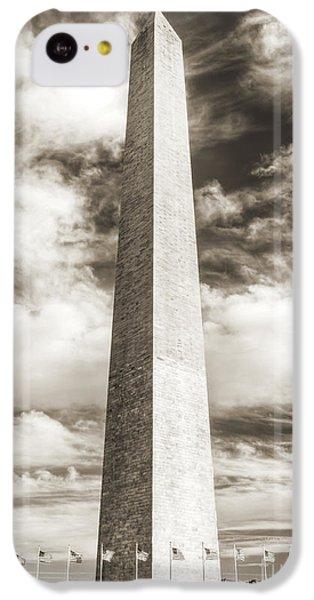 Washington Monument iPhone 5c Case - Washington Monument by Dustin K Ryan