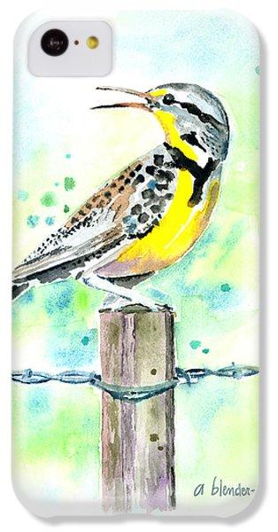 Western Meadowlark IPhone 5c Case by Arline Wagner