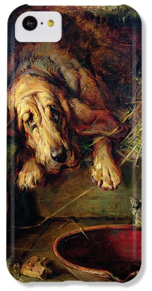 When The Cat's Away The Mice Will Play  IPhone 5c Case by Philip Eustace Stretton