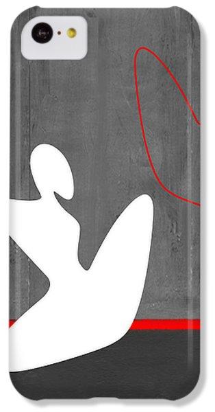Figurative iPhone 5c Case - White Girl by Naxart Studio