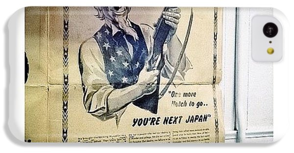 Ohio iPhone 5c Case - Ww2 Vintage War Bonds Advertising by Natasha Marco
