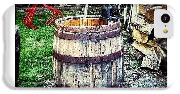 Ohio iPhone 5c Case - Ye Olde Water Pump by Natasha Marco