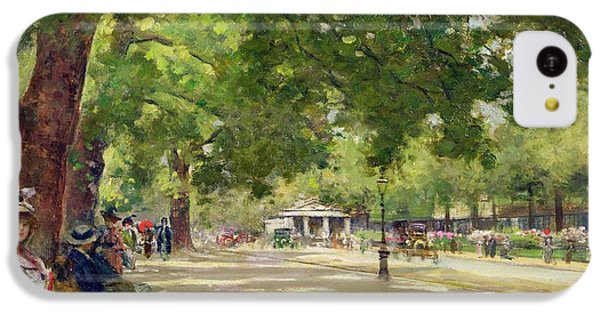 Hyde Park - London IPhone 5c Case by Count Girolamo Pieri Nerli