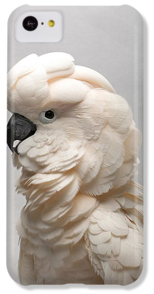 Salmon iPhone 5c Case - A Salmon-crested Cockatoo by Joel Sartore