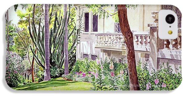 Beverly Hills iPhone 5c Case - A Visit To Virginia's by David Lloyd Glover