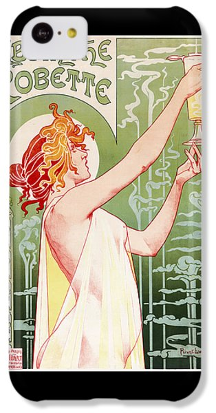 Fairy iPhone 5c Case - Absinthe Robette by Henri Privat-Livemont