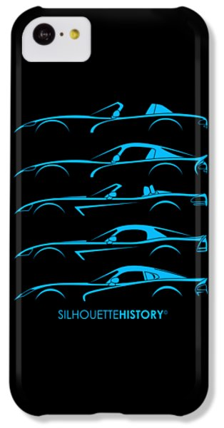 American Snakes Silhouettehistory IPhone 5c Case