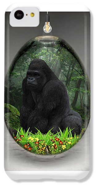 Ape Gorilla Art IPhone 5c Case
