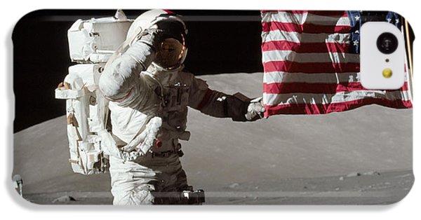 Apollo 17 Astronaut Salutes The United IPhone 5c Case