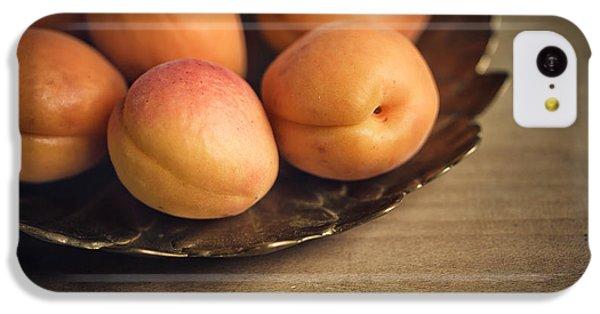 Orange iPhone 5c Case - Apricots by Nailia Schwarz