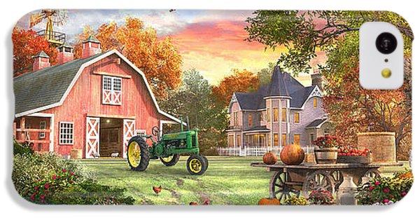 Autumn Farm IPhone 5c Case