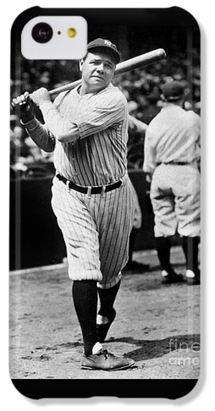 Babe Ruth IPhone 5c Case by American School