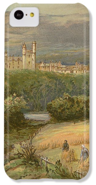 Balmoral Castle IPhone 5c Case by English School