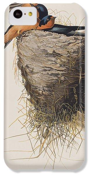 Barn Swallow IPhone 5c Case by John James Audubon