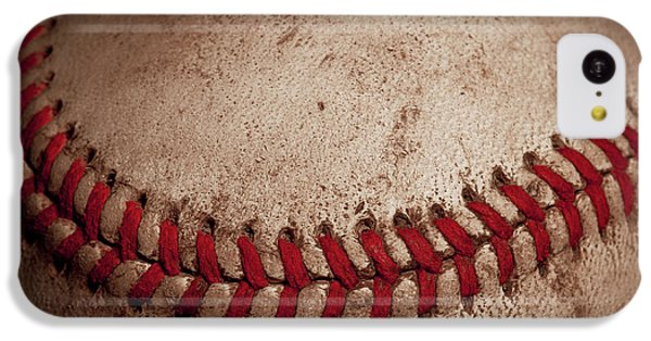 IPhone 5c Case featuring the photograph Baseball Seams by David Patterson