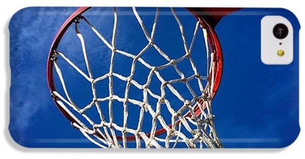 Sport iPhone 5c Case - Basketball Hoop #juansilvaphotos by Juan Silva