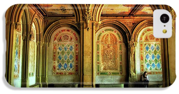 IPhone 5c Case featuring the photograph Bethesda Terrace Arcade by Jessica Jenney
