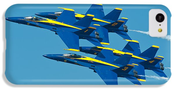 Blue Angels IPhone 5c Case by Sebastian Musial