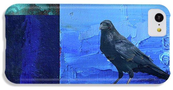 Blue Raven IPhone 5c Case by Nancy Merkle