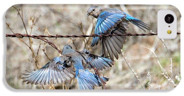 Bluebird Battle IPhone 5c Case by Mike Dawson