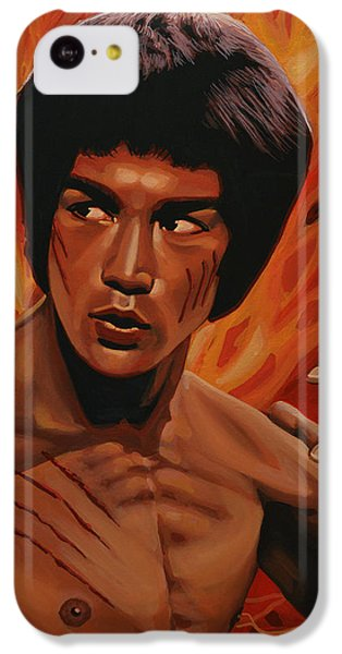 Bruce Lee Enter The Dragon IPhone 5c Case by Paul Meijering