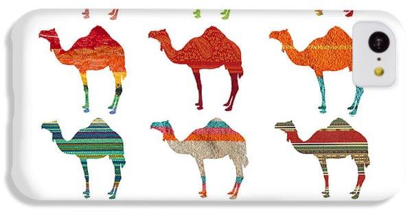 Camels IPhone 5c Case by Art Spectrum