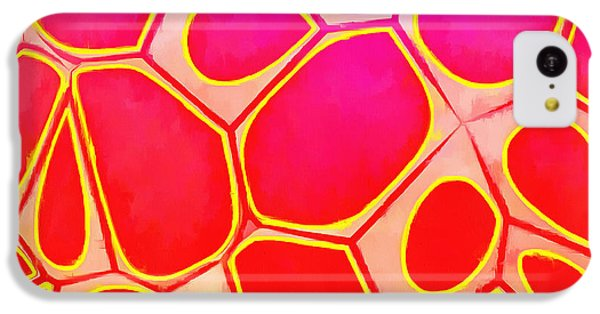 Detail iPhone 5c Case - Cells Abstract Three by Edward Fielding