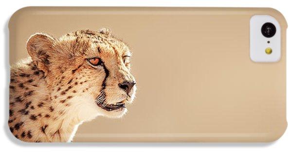 Cheetah iPhone 5c Case - Cheetah Portrait by Johan Swanepoel