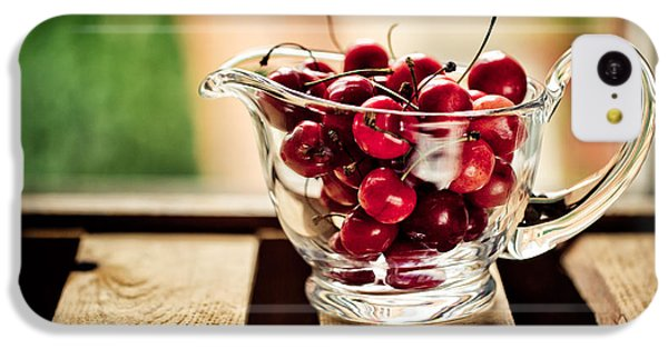 Fruit Bowl iPhone 5c Case - Cherries by Nailia Schwarz