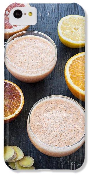 Citrus Smoothies IPhone 5c Case by Elena Elisseeva