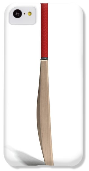 Cricket Bat IPhone 5c Case by Allan Swart