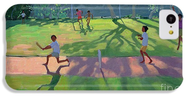 Cricket Sri Lanka IPhone 5c Case by Andrew Macara