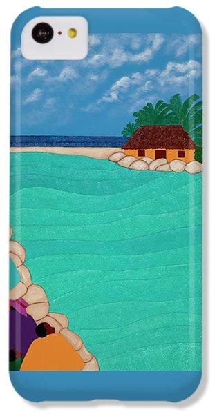 iPhone 5c Case - Curacao Lagoon by Synthia SAINT JAMES