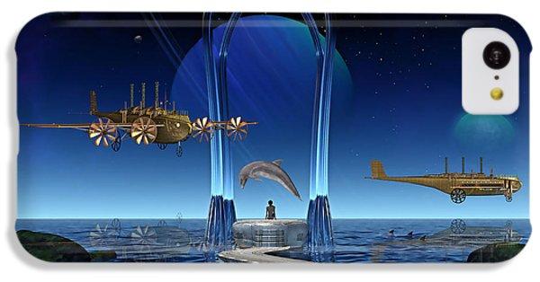 Dolphin Dreams IPhone 5c Case