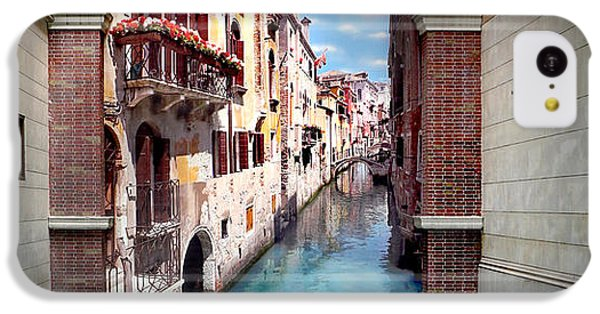 Featured Images iPhone 5c Case - Dreaming Of Venice Panorama by Az Jackson