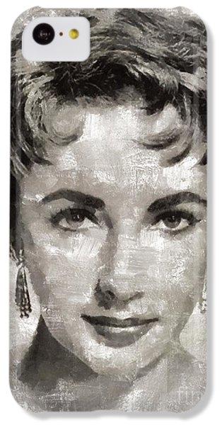 Elizabeth Taylor, Vintage Hollywood Legend IPhone 5c Case