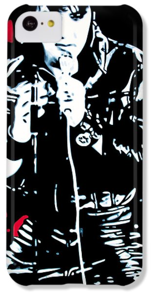 Elvis IPhone 5c Case by Luis Ludzska