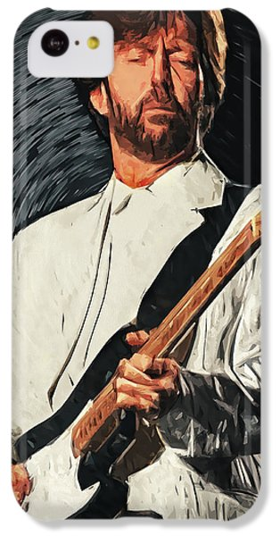 Eric Clapton iPhone 5c Case - Eric Clapton by Zapista