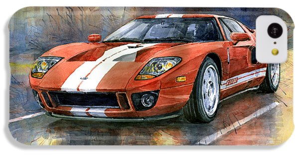 Ford Gt 40 2006  IPhone 5c Case by Yuriy  Shevchuk